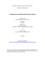 FEDERAL RESERVE BANK OF SAN FRANCISCO WORKING PAPER SERIES Fabrizio Pe