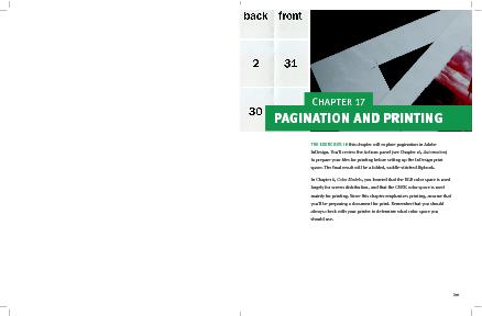 this chapter will explore pagination in Adobe