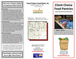 Food Finders Food Bank, Inc. PowerPoint PPT Presentation