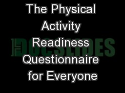 physical activity questionnaire for adolescent pdf