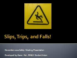 Slips, Trips, and Falls!