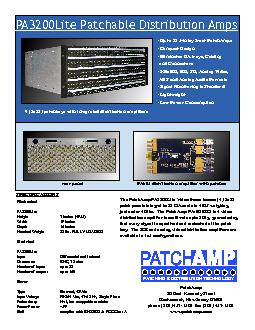 PATCHING & DISTRIBUTION TECHNOLOGY PowerPoint PPT Presentation