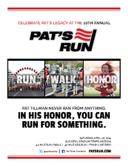CELEBRATE PAT'S LEGACY AT THE10TH ANNUAL