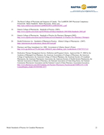 The National Association of Pharmacy Regulatory Authorities NAPRA  INTRODUCTION Model Standards of Practic e for Canadian Pharmacists The Safety Competencies  Enhancing Pati ent Safety Across the He
