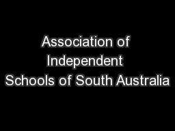 Association of Independent Schools of South Australia