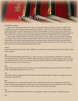 Jewish Persecution Judaism and Christianity stem from the same root, t PowerPoint PPT Presentation