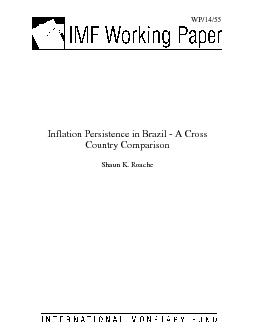 WP/14/55 &#x/MCI;