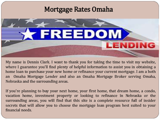 Mortgage Rates Omaha PowerPoint PPT Presentation