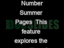 Journal of Economic PerspectivesVolume  Number Summer Pages  This feature explores the operation of individual markets