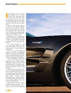 Auto Finance nternational auto majors who have been speeding into the rapidly growing Indian automobile market in recent years are trying innova tive strategies to expand market share and boost sales