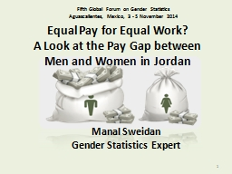 Equal Pay for Equal Work?