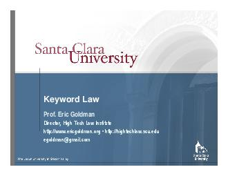 Keyword Law Prof