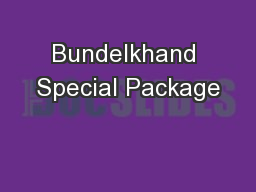 Bundelkhand Special Package