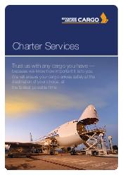Charter Services Trust us with any cargo you have because we know how important it is to you