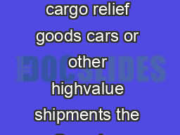 When it comes to shipping huge quantities to remote places be it outsized cargo relief goods cars or other highvalue shipments the Cargolux charter department offers the best and most reliable soluti