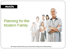 Planning for the Modern Family