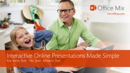 Interactive Online Presentations Made Simple