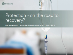 Protection - on the road to recovery? PowerPoint PPT Presentation