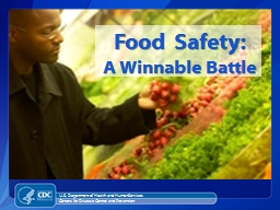 Food Safety: