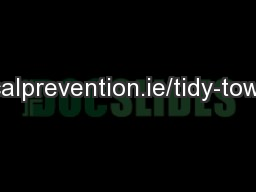 localprevention.ie/tidy-towns