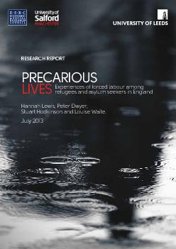 PRECARIOUS LIVESExperiences of forced labour among refugees and asylum