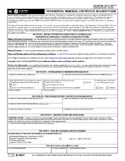 Form Approved, OMB No. 2900-0567 Expiration Date:  July, 2017