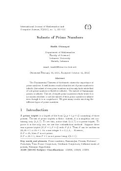 InternationalJournalofMathematicsandComputerScience,(2012),no.2,101