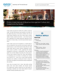 Protea Hotels was launched in 1984 with a portfolio of just four  ...