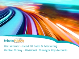 Karl Werner – Head Of Sales & Marketing