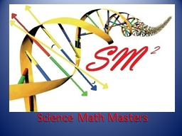 Science Math Masters PowerPoint PPT Presentation