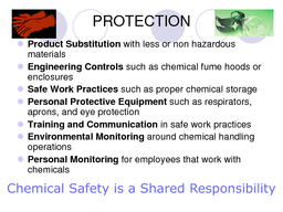 QGHUVWDQGLQJVDQGDEHOV       z z z Flammables Oxidizers Explosives Compressed gas  Health Hazard HEALTH POISON RADIOACTIVE CORROSIVE BIOLOGICAL    z ACUTELY TOXIC chemicals cause adverse health effec
