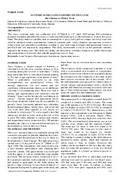 ISSN  National Journal of Community Medicine  Vol