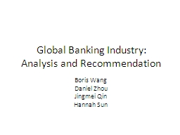 Global Banking Industry:
