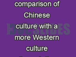 Stacy Erickson Mill Creek Middle School PURPOSE To create a comparison of Chinese culture with a more Western culture through the reading and analysis of a childrens fairy tale to recognize the diff