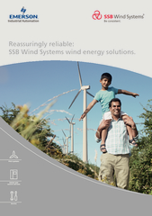 Reassuringly reliable:SSB Wind Systems wind energy solutions.