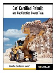 Certified Rebuildand Cat Certified Power Train