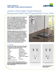 Product Bulletin forUSB Charger/Tamper-Resistant Receptacles PowerPoint PPT Presentation