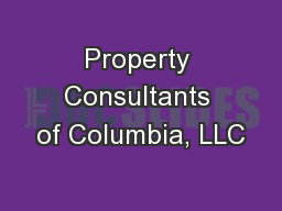 Property Consultants of Columbia, LLC