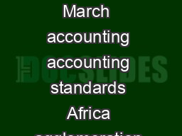 SER Keywords  March  accounting accounting standards Africa agglomeration aging