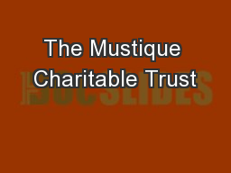 The Mustique Charitable Trust