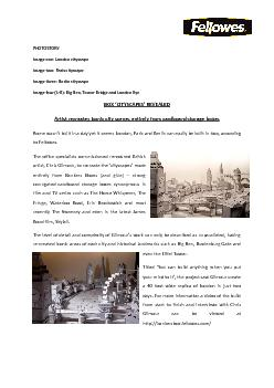 Image one: London cityscape PowerPoint PPT Presentation