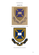 UQ Heraldry Project The University of Queenslands Coat of Arms Historical Aspects Produced by Historico Research Services Centre for Applied History  Heritage Studies School of History Philosophy Rel