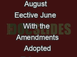 ETHICAL PRINCI S OF PSYCHOLOGISTS AND OD OF ONDUCT Adopted August   Eective June   With the  Amendments Adopted February   Eective June    Eective June   as amended  Copyright   by the American Psych