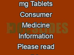 Sandoz Paracetamol Plus Codeine Paracetamol mg and Codeine Phosphate  mg Tablets Consumer Medicine Information Please read this information before you start taking this medicine What is in this CMI T