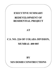 Application for CRZ clearance                             Project Name