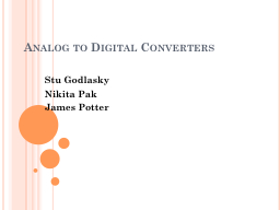 Analog to Digital Converters PowerPoint PPT Presentation