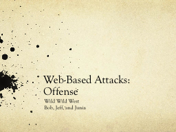 Web-Based Attacks