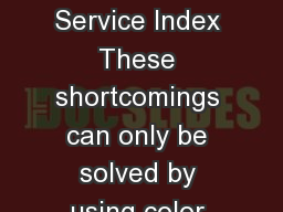 Appearance Color Physical Properties Technical Service Index These shortcomings can only be solved by using color instrumen tation with internationally specied color systems PowerPoint PPT Presentation