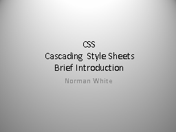 CSS Cascading Style