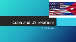Cuba and US relations PowerPoint PPT Presentation